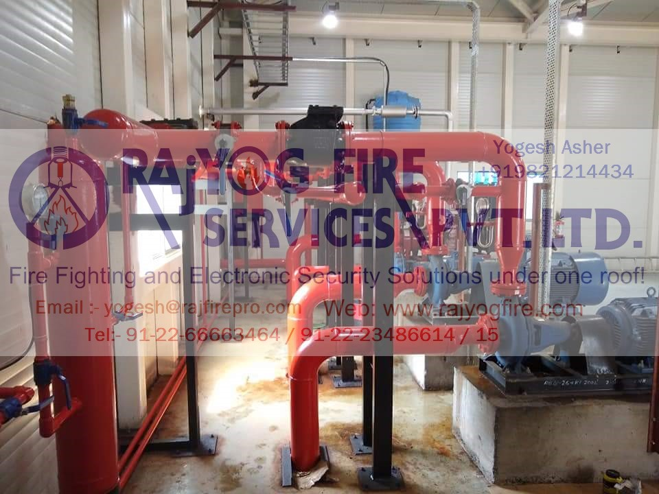Deluge System For Water Curtain, Pump Panel, Hydrant Riser